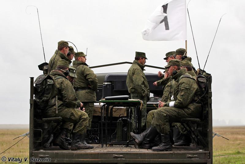 Передвижной командный пункт учений (Mobile command post)