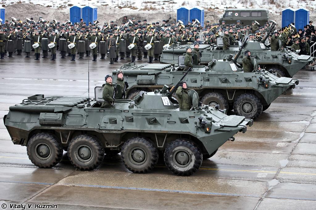 Бронетранспортер БТР-80 (BTR-80)