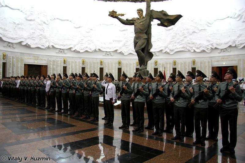 Присяга военнослужащих 154-го отдельного комендантского полка (154 Detached commandant regiment recruits oath)