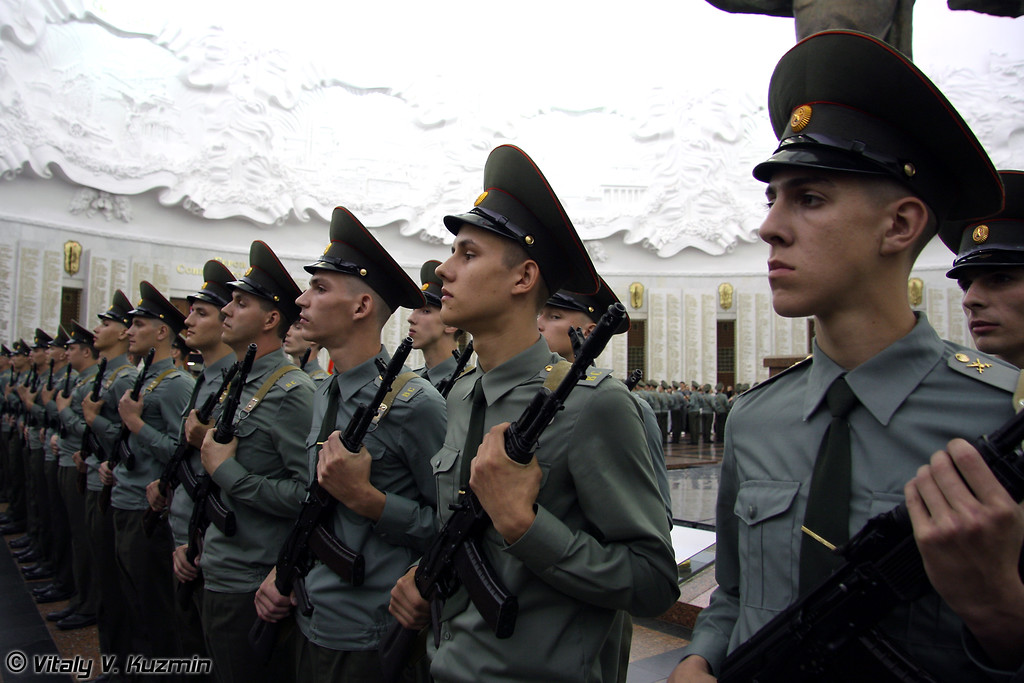 Присяга военнослужащих 154-го отдельного комендантского полка (154 Detached commandant regiment recruits oath)