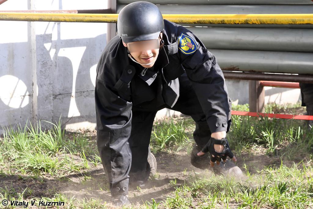 Прохождение командами полосы препятствий (Obstacle course)