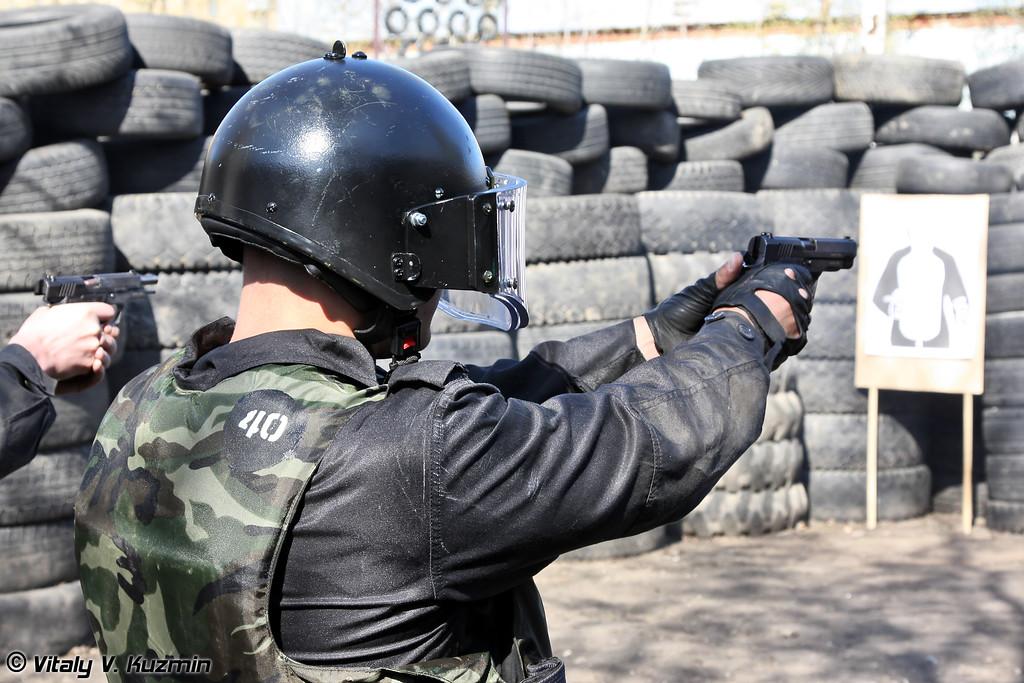 Стрелковый этап (Shooting competition)