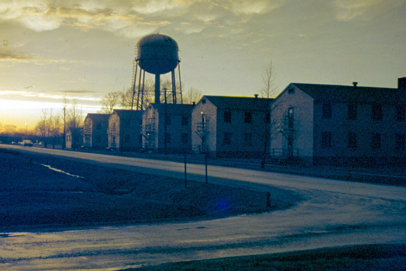 1963-02 - Ft Ben Harrison IN barracks row