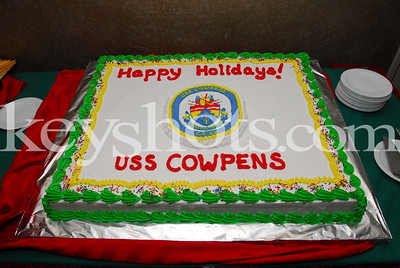USS Cowpens Holiday Party 2007