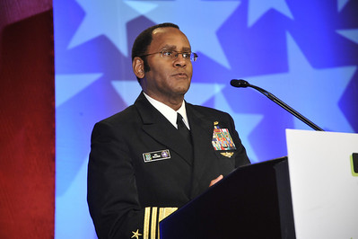 Vice Admiral Mel Williams, Commander, Second Fleet, US Navy