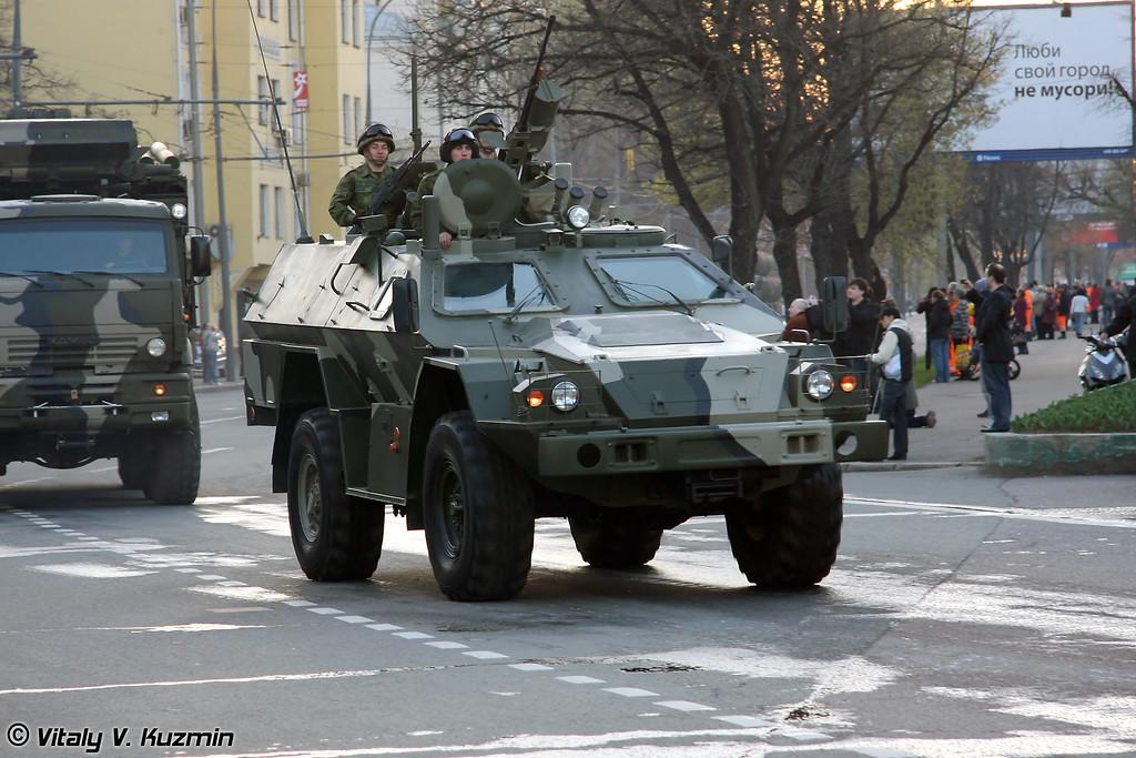 КАМАЗ-43269 Выстрел / Дозор (KAMAZ-43269 Vystrel / Dozor)