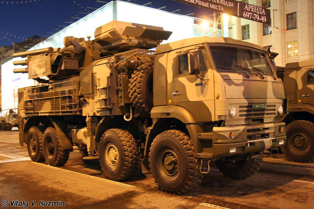 ЗРПК 96К6 Панцирь-С1 (96K6 Pantsir-S1)