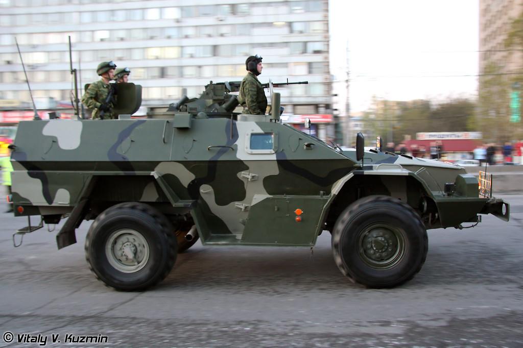 КАМАЗ-43269 Выстрел / Дозор (KAMAZ-43269 Vistrel / Dozor)