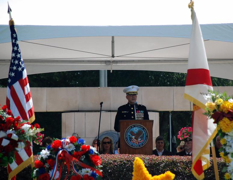 General Scott Hartsell, Deputy Commanding General, I Marine Expeditionary Force serves as the Keynote speaker.