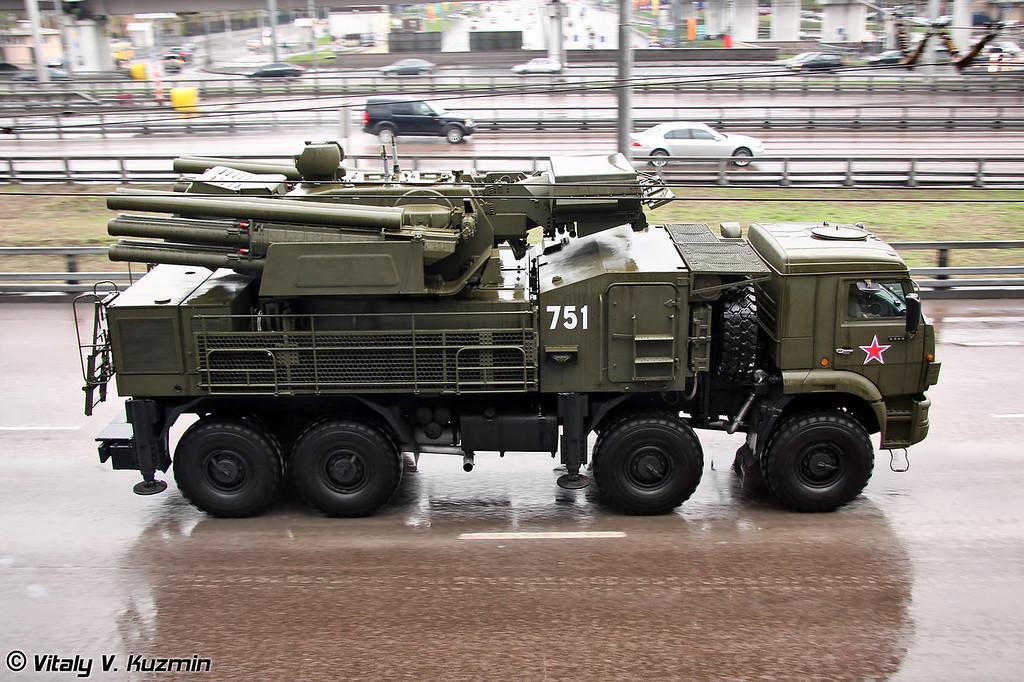 ЗРПК 96К6 Панцирь-С (96K6 Pantsir-S)