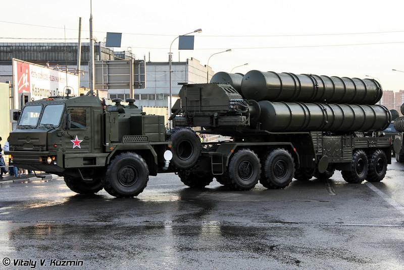 Пусковая установка 5П85ТМ ЗРC С-400 (5P85TM TEL for S-400 air defence system)