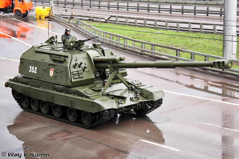 САУ 2С19М1 Мста-С (2S19M1 Msta-S self-propelled artillery)