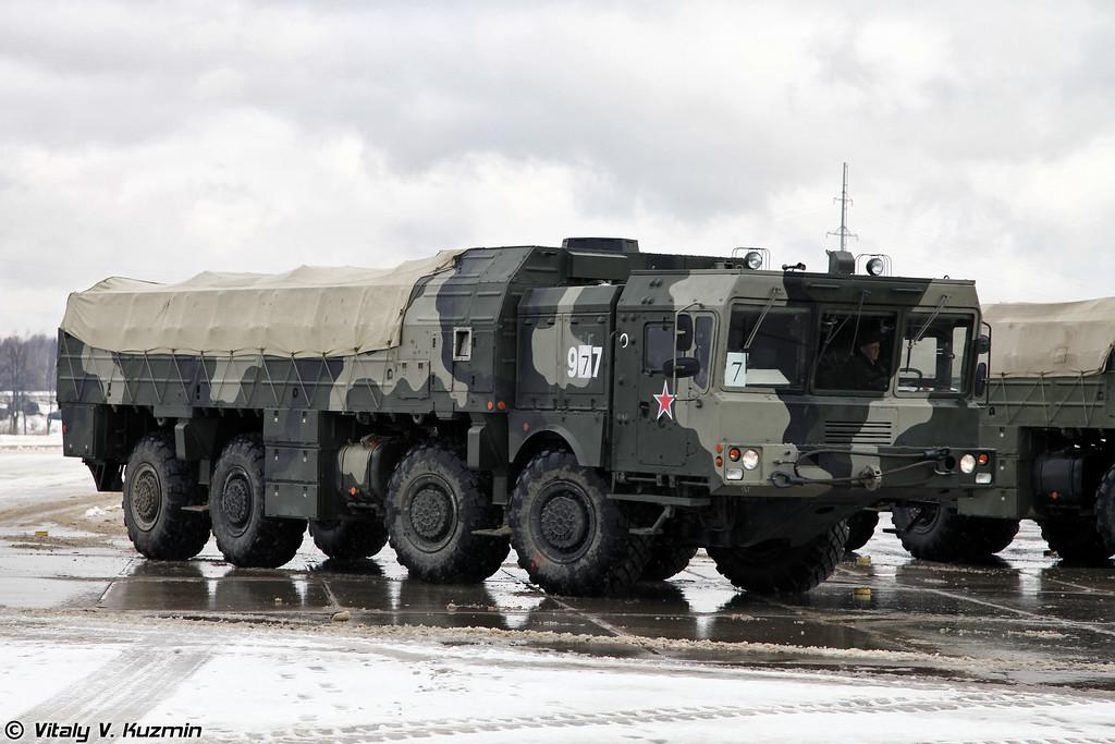 Транспортно-заряжающая машина 9Т250 комплекса Искандер-М ((9T250 loading vehicle for Iskander-M system)