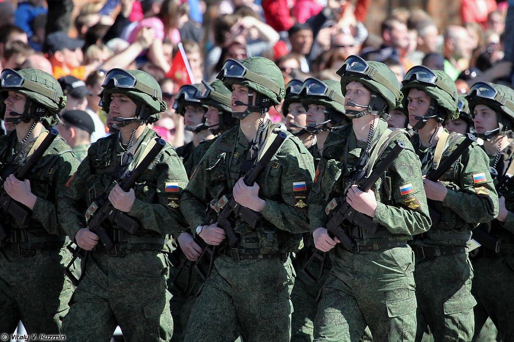 Военнослужащие 9 отдельной мотострелковой бригады (9th Separate Motor Rifle Brigade)