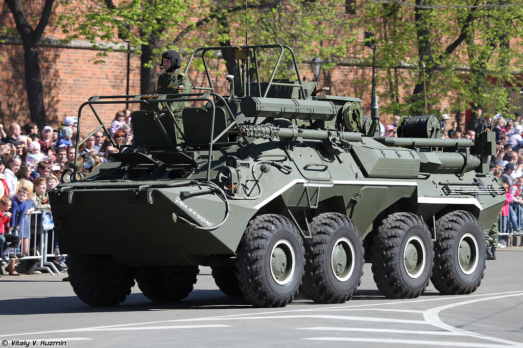 Радиостанция Р-166-0,5 на базе К1Ш1 (R-166-0,5 signal vehicle on K1Sh1 base)