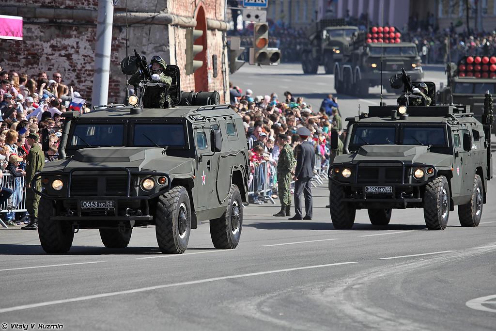 АМН 233114 Тигр-М (AMN 233114 Tigr-M armored vehicle)