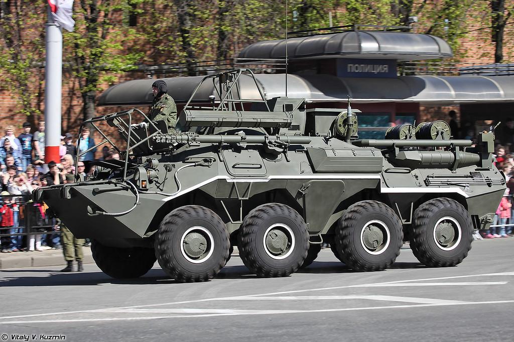 Радиостанция Р-166-0,5 на базе К1Ш1 (R-166-0,5 signal vehicle on K1Sh1 base)