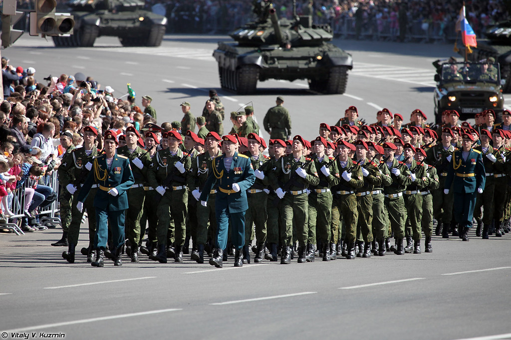 Подразделение внутренних войск МВД России (Internal troops unit)