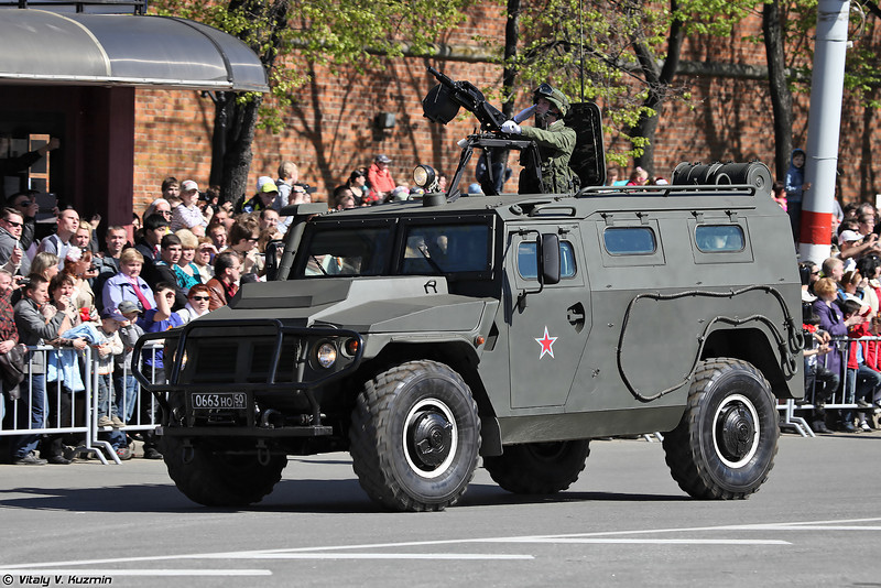 АМН 233114 Тигр-М (AMN 233114 Tigr-M armored vehicle)
