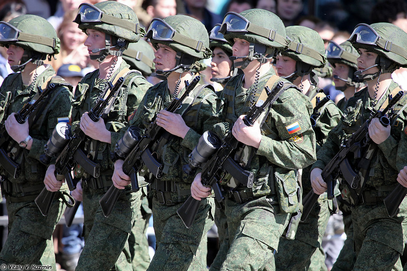Военнослужащие 9 отдельной мотострелковой бригады (9th Separate Motor Rifle Brigade)