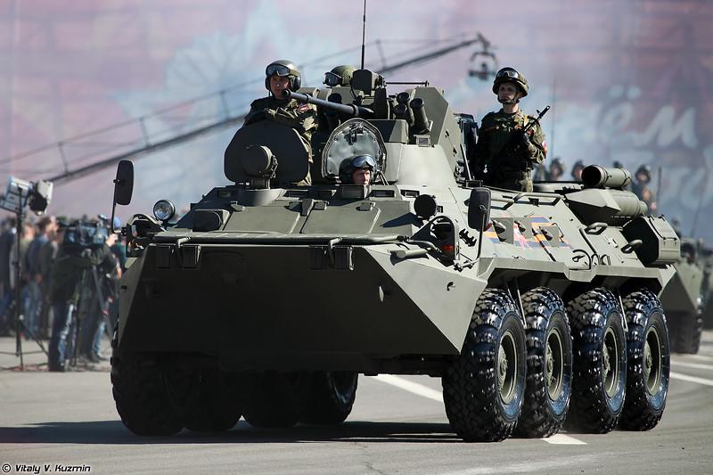Бронетранспортер БТР-82А (BTR-82A armored personnel carrier)