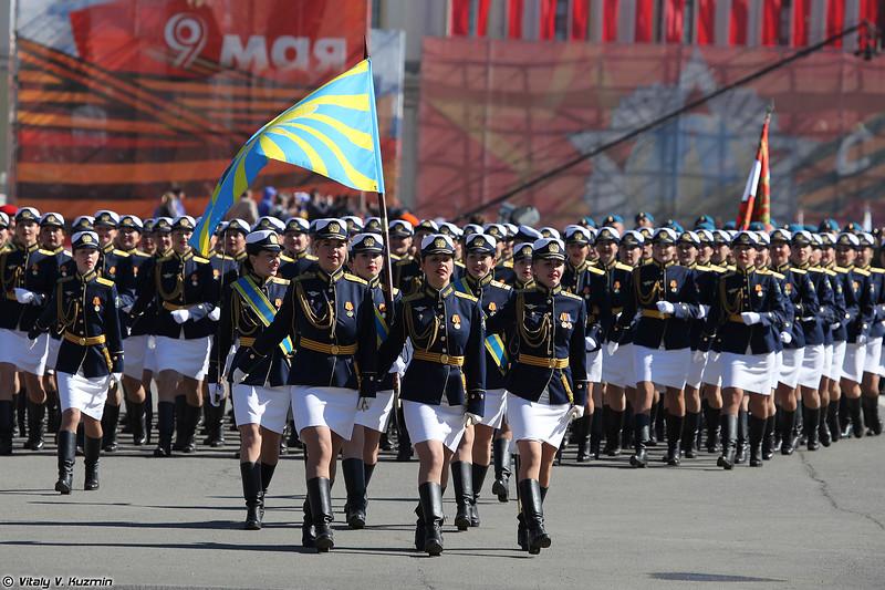 Женщины-военнослужащие 6-й Армии ВВС и ПВО (Female military personnel of 6th Army of Air Force and Air defence)