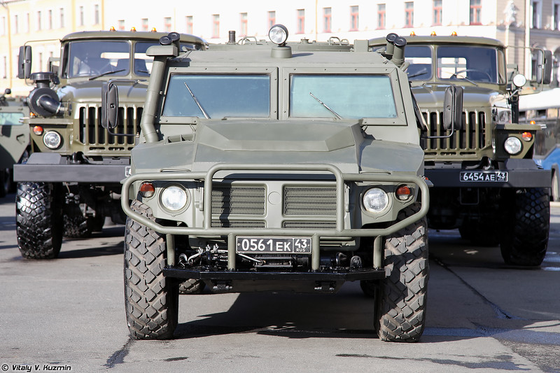 Бронеавтомобиль АСН 233115 Тигр-М СпН (ASN 233115 Tigr-M SpN armored vehicle)