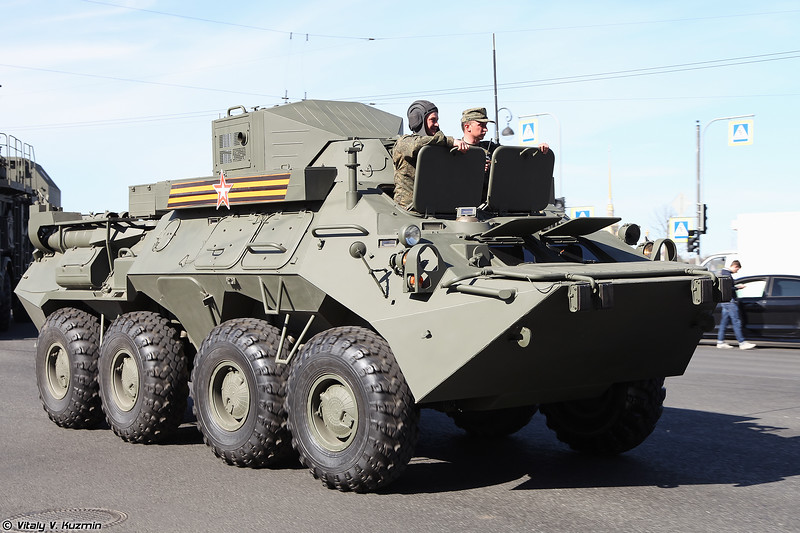 Унифицированная КШМ Р-149МА1 (R-149MA1 command vehicle)