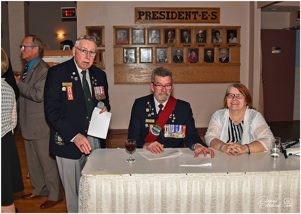 May 2018 Mess Dinner