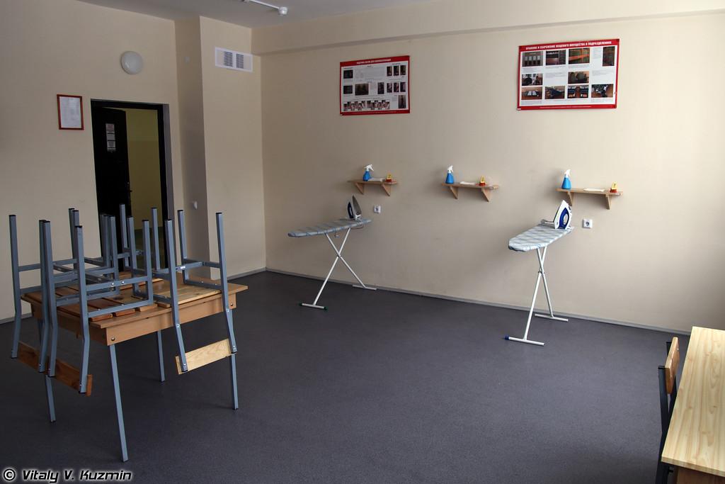 Расположение расчетов, входящих в группу боевого управления бригады (Typical barracks)