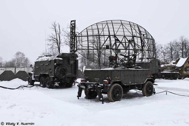 Наземный радиолокационный запросчик РЛС 1Л13 Небо-СВ. (IFF interrogator.)