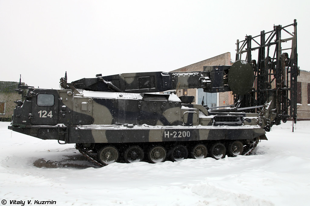 Пусковая установка 9А83 (9A83 TELAR)