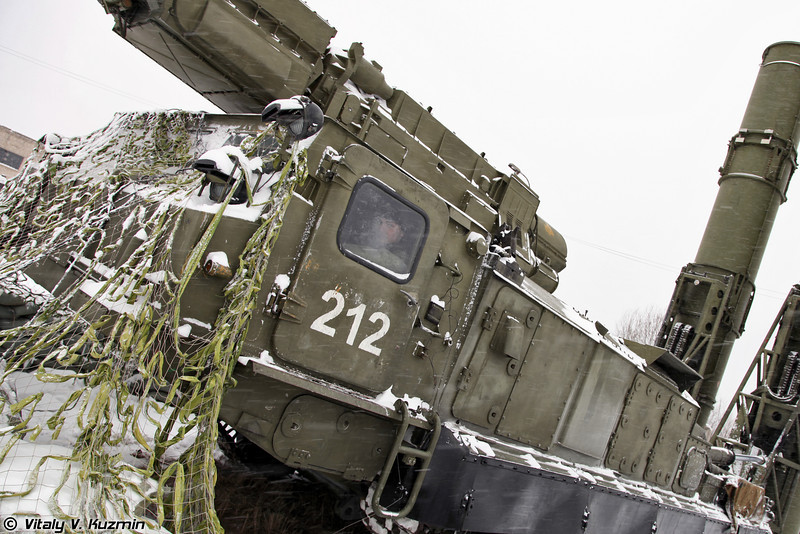 Пусковая установка 9А82 (9A82 TELAR)