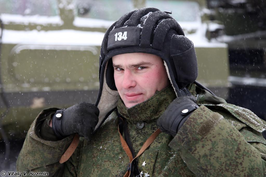 Командир расчета ПЗУ 9А84 (9A84 crew commander)