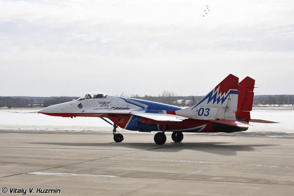 МиГ-29 АГВП Стрижи (MiG-29 The Swifts team)