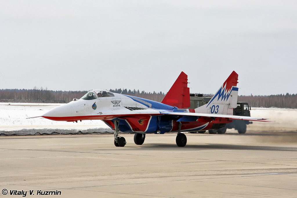 МиГ-29 АГВП Стрижи (MiG-29 The Swifts team)