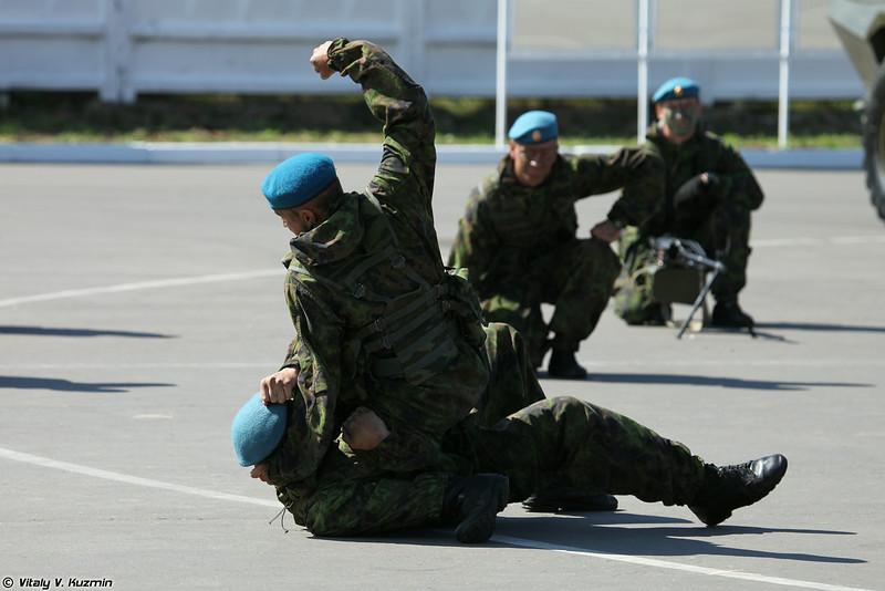 Показательное выступление военнослужащих полка (Demonstration)