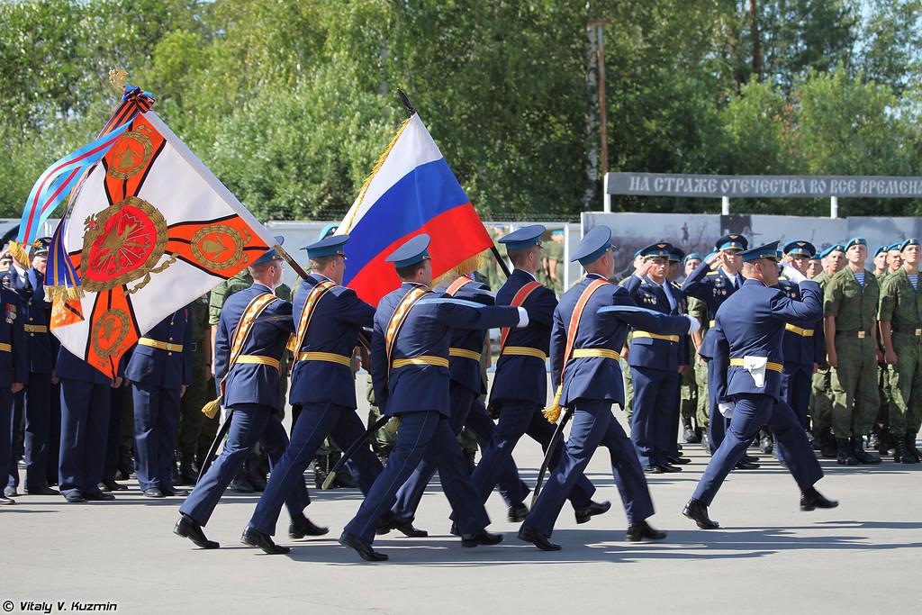 Боевое знамя полка (Combat banner)