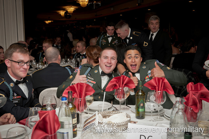 "09 DEC 2011 (Vicenza, Italy) Sky Soldiers of the 2D Battalion (Airborne), 503D Infantry (""The Rock"") were able to enjoy their rare time off, during the unit's 2011 Winter Ball.  The event was held at Hotel Villa Pigalle, 40 minutes north of Vicenza."