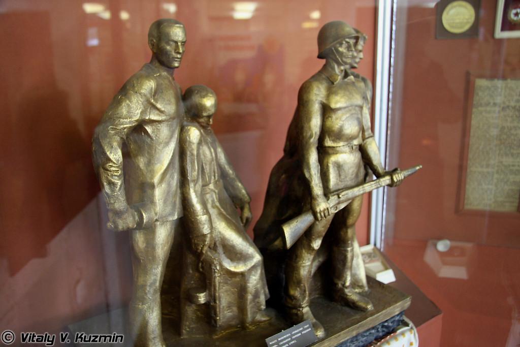 Макет монумента (Monument model)