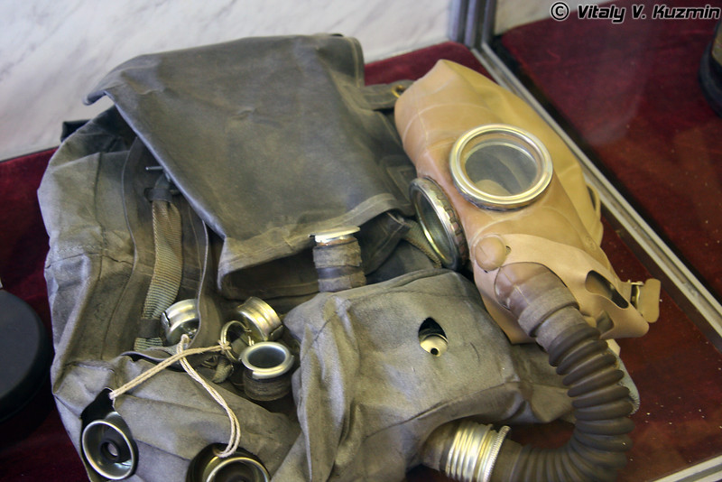 Противогаз ИП-5 (IP-5 gas mask)