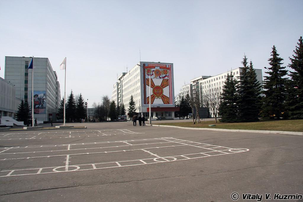 Расположение бригады (Brigade location)