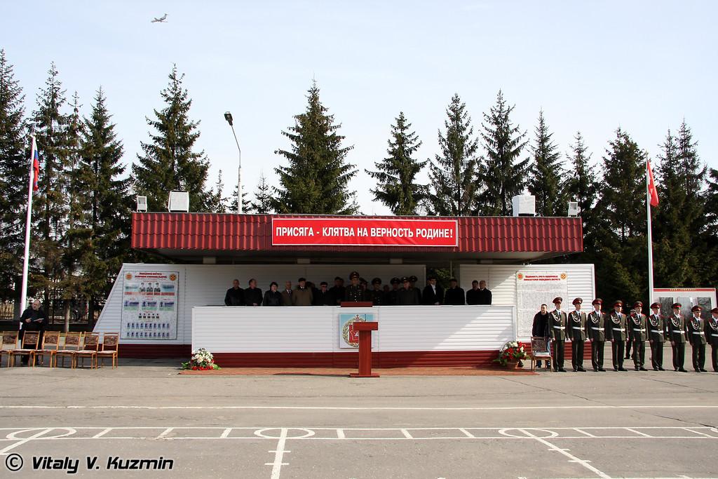 День призывника 2009 в 27-й отдельной гвардейской мотострелковой бригаде (Conscript Day in 27th Separate Guards Red Banner Sevastopolskaya Motor Rifle Brigade)