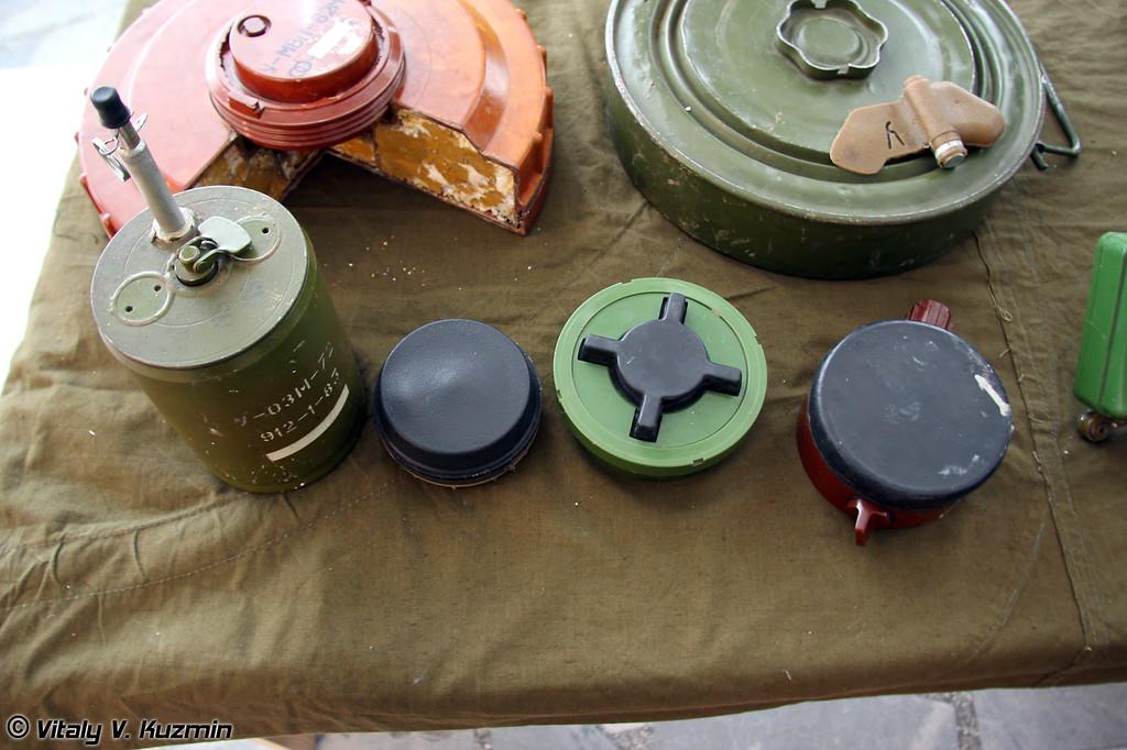 Мины ОЗМ-72, ПМН-4, ПМН-2 и ПМН (OZM-72, PMN-4, PMN-2 and PMN mines)