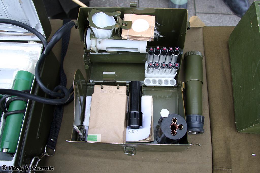 Войсковой прибор химической разведки ВПХР (Chemical reconnaissance device VPKhR)