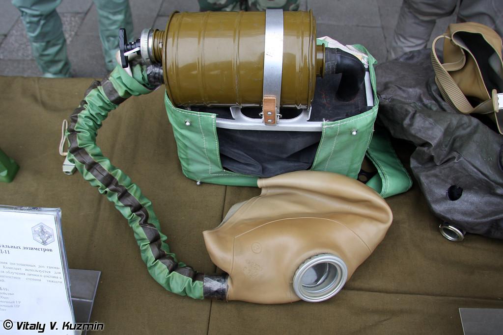 Изолирующий дыхательный аппарат ИП-4 (IP-4 gas mask)