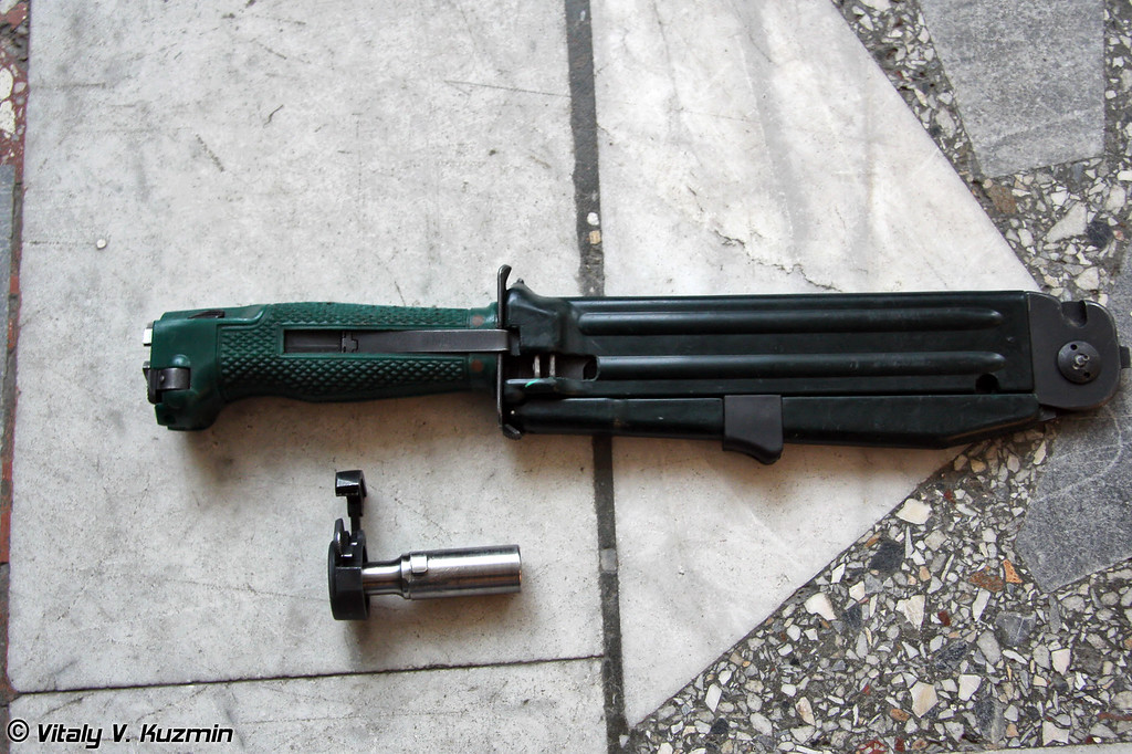 Нож разведчика стреляющий НРС-2 (NRS-2 knife)