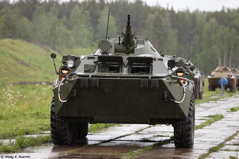 Машина радиационной и химической разведки РХМ-4 (RKhM-4 NBC reconnaissance vehicle)