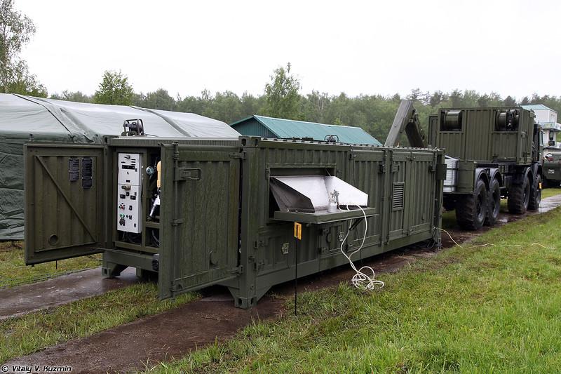 Универсальная станция специальной обработки УССО (USSO universal decontamination station)