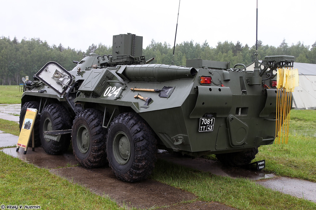 Машина радиационной и химической разведки РХМ-6 (RKhM-6 NBC reconnaissance vehicle)